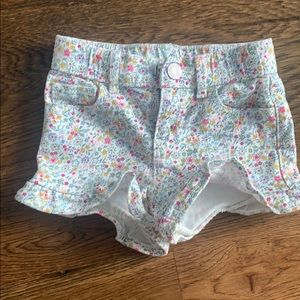 GAP Ruffle Shorts - Size 3